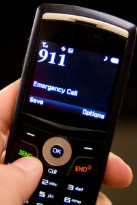 infliction injury 911 call