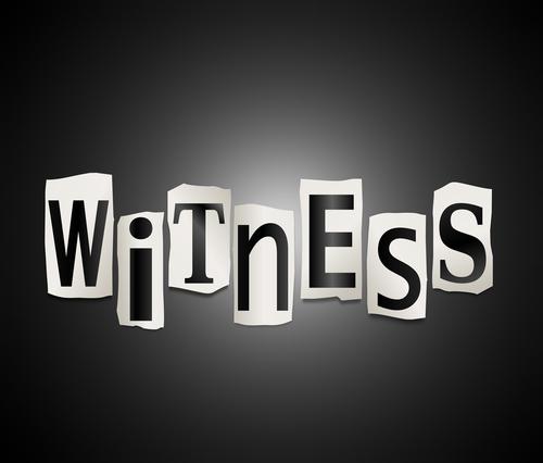 witness intimidation