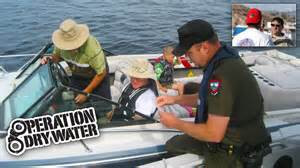 Boating under the influence laws