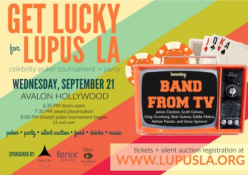 Invite to 2016 Get Lucky for Lupus LA