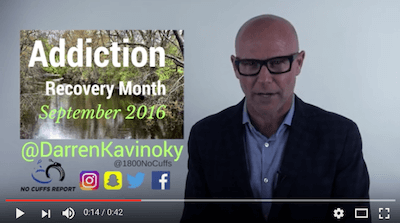 Many Paths One Destination free event featuring keynote speaker Darren Kavinoky on National Recovery Month