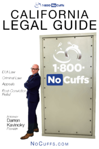 1800NoCuffs California Legal Guide Free eBook