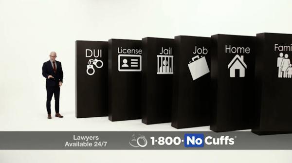 1800 No Cuffs Domino Effect of DUI