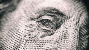 close up of a $100 bill